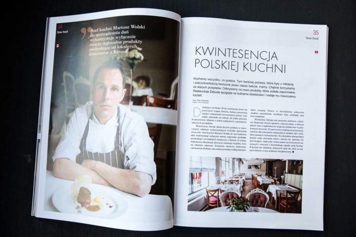 Szef kuchni - Mariusz Wolski